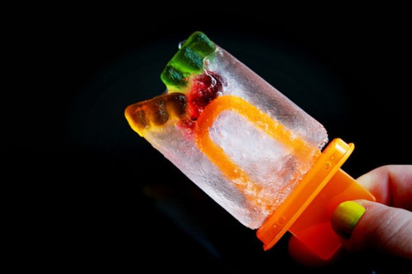 Gummy Bear and Sprite